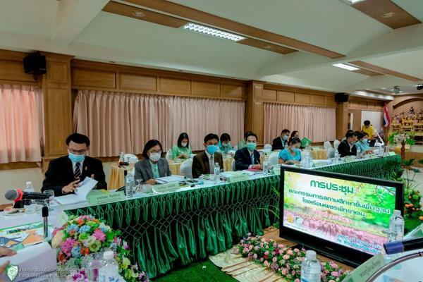 การประชุมคณะกรรมการสถานศึกษาขั้นพื้นฐานโรงเรียนเพชรพิทยาคม ครั้งที่ 2 ประจำปี พ.ศ. 2563