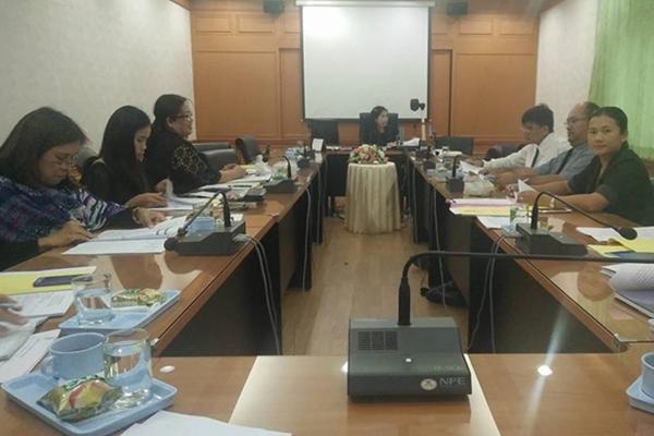 รร.เพชรพิทยาคม ประชุมคณะกรรมการบริหารงานวิชาการ ครั้งที่ 7 ภาคเรียนที่ 2 ปีการศึกษา 2559