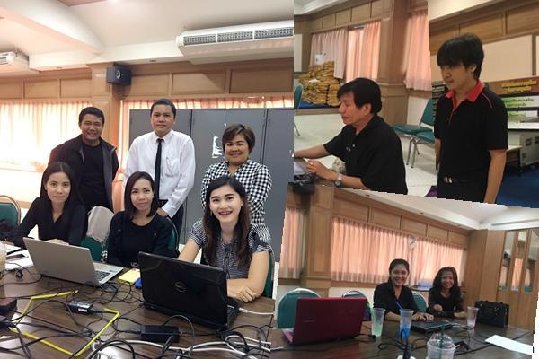 ประชุมฝ่ายทะเบียนรายงานผลการแข่งขันงานศิลปหัตถกรรมนักเรียนฯ สพม.40 (โซน1)