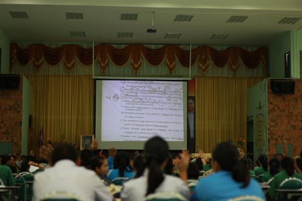 โรงเรียนเพชรพิทยาคม จัดโครงการสอนทบทวนและติวเข้ม(O-NET) ให้กับนักเรียน ม.1-ม.6