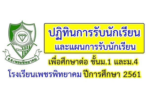 โรงเรียนเพชรพิทยาคม จ.เพชรบูรณ์ รับสมัครนักเรียนเข้าศึกษาต่อ ม.1 และม.4 ปีการศึกษา2560