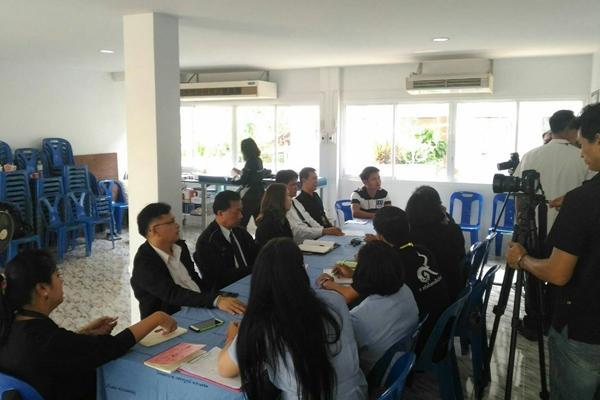 ประชุมภาคีเครือข่ายการป้องกันและแก้ไขปัญหายาเสพติดในสถานศึกษา