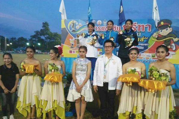 เพชรพิทยาคม คว้ารางวัลรองชนะเลิศอันดับ2 การแข่งกรีฑาประเภทสัตตกรีฑา กีฬาเยาวชนแห่งชาติชุมพร-ระนองเกมส์