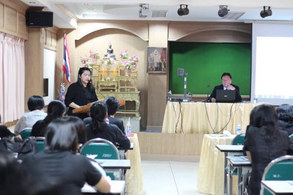 โรงเรียนเพชรพิทยาคม ประชุมครูและบุคลากร ครั้งที่ 2/2560