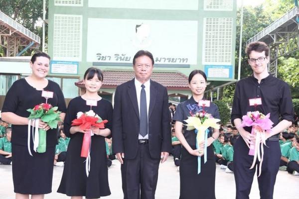 ต้อนรับครูชาวต่างชาติ ที่มาปฏิบัติหน้าที่ ปีการศึกษา 2560