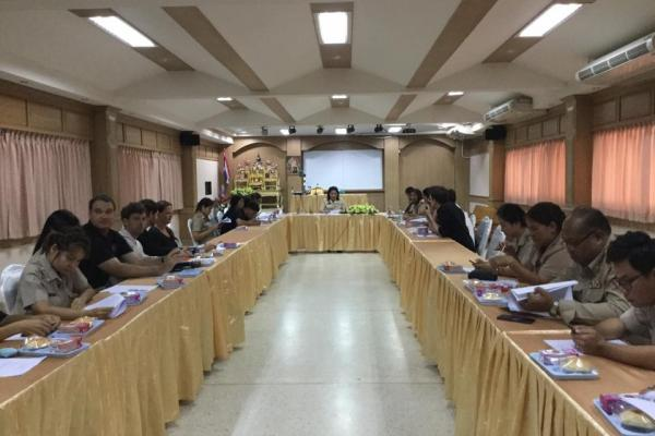 ประชุม Co teacher เพื่อปรึกษาหารือในการจัดการเรียนการสอน ของโครงการ EP/ IEP
