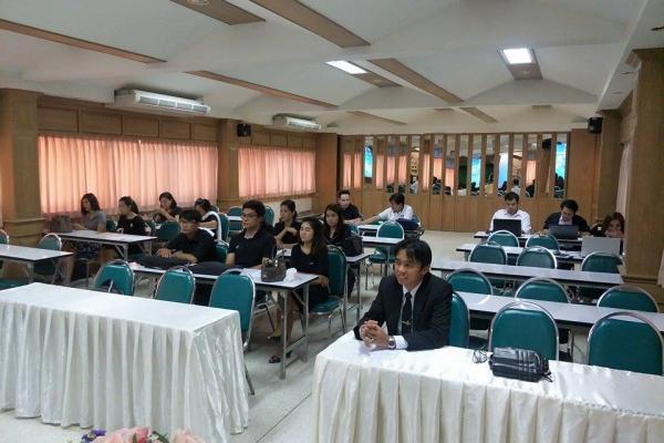 ประชุมคณะกรรมการฝ่ายลงทะเบียนและรายงานผลการแข่งขันศิลปหัตถกรรมนักเรียน ครั้งที่ 67 สพม.40 กลุ่ม 1