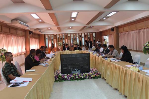 ประชุมคณะกรรมการสถานศึกษาขั้นพื้นฐานโรงเรียนเพชรพิทยาคม