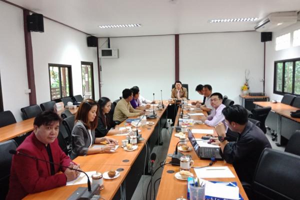 ประชุมคณะทำงานจัดทำแผนงานพัฒนา ICT สพม.40