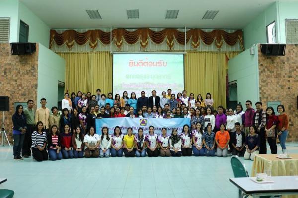 โรงเรียนเมืองสุราษฎร์ธานี ที่มาศึกษาดูงานโรงเรียนมาตรฐานสากล (OBECQA)