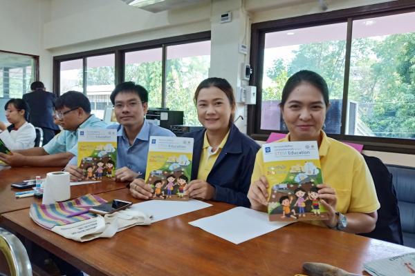 ครูโรงเรียนเพชรพิทยาคม ร่วมอบรมครูด้วยระบบทางไกลสะเต็มศึกษา 2562 สำหรับครูพี่เลี้ยง ระดับมัธยมศึกษาตอนต้น
