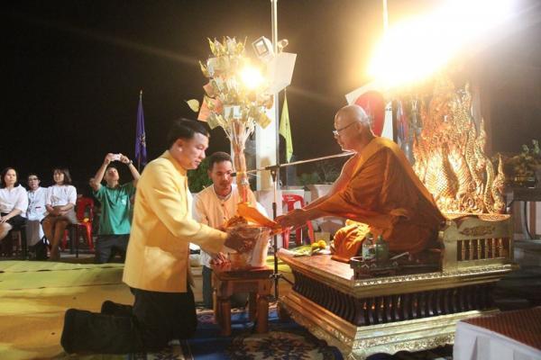 โครงการปฏิบัติธรรมเฉลิมพระเกียรติฯ ณ พุทธอุทยานเพชรบุระ อ.เมือง จ.เพชรบูรณ์ เมื่อวันที่ 9 มกราคม 2563