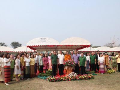 พิธีเปิดอาคารพระราชปริยัติบัณฑิต 112 ปีเพชรพิทยาคมและอาคาร 324 ล